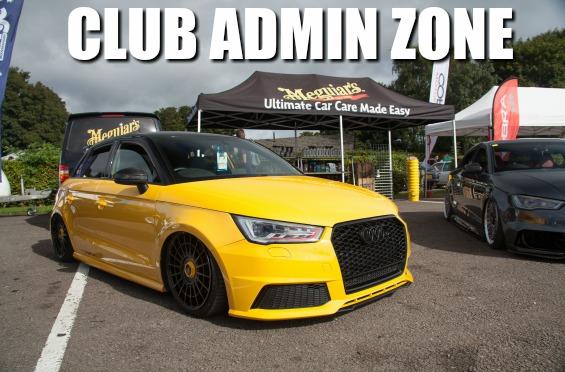 club admin zone