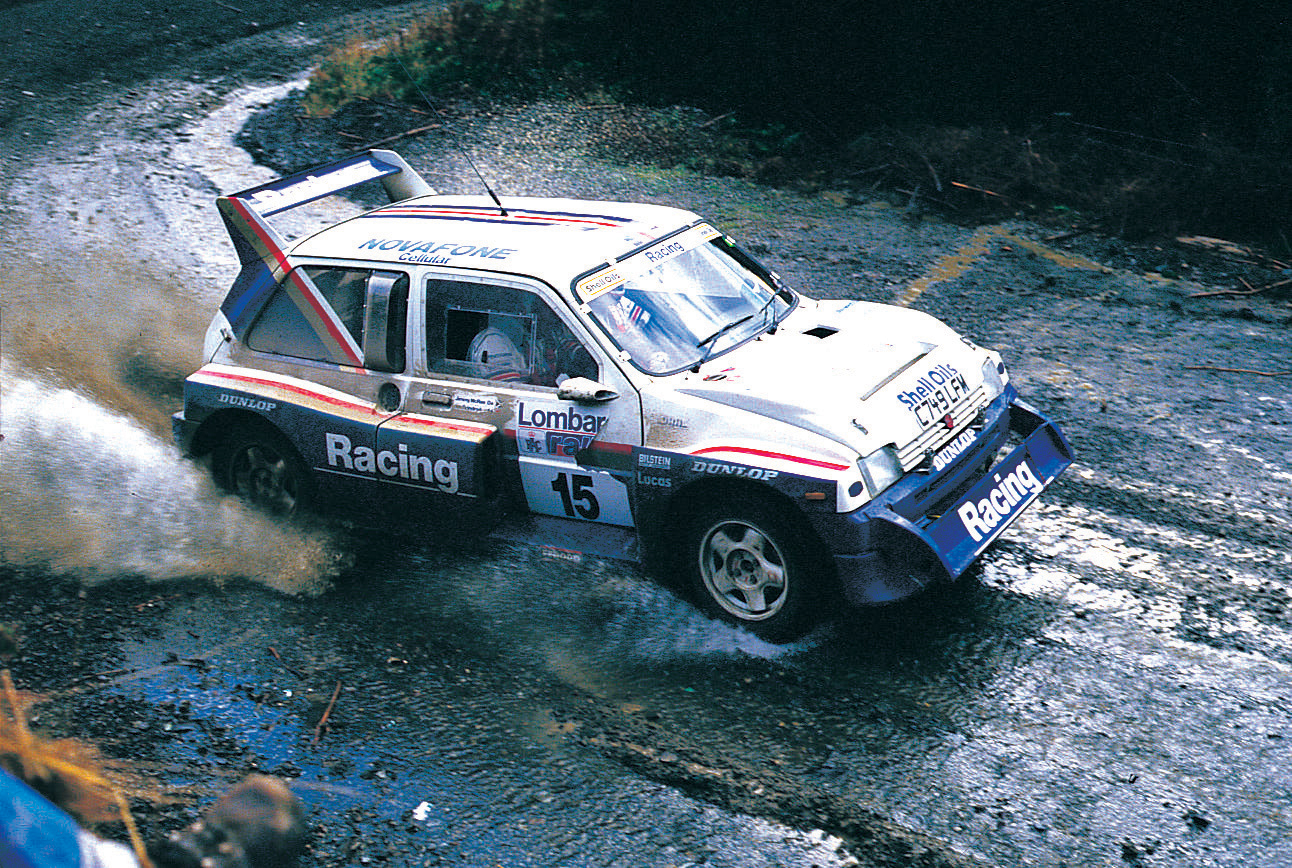 JIMMY MCRAE TO REUNITE WITH PRODRIVE'S METRO 6R4 AT RALLYDAY 2019