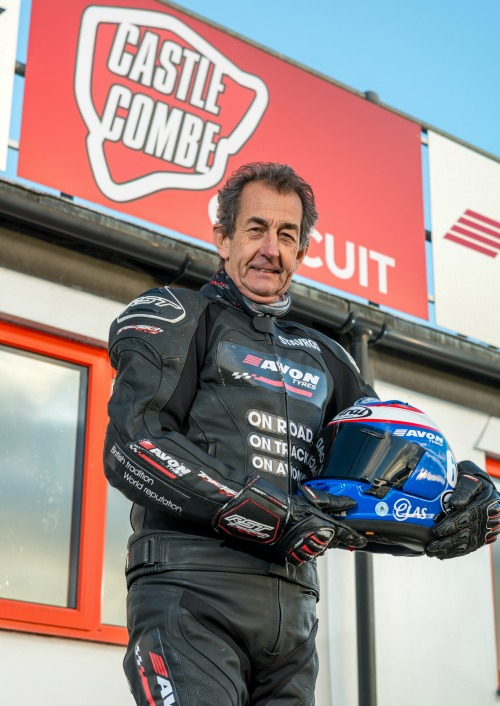 Former 500cc Grand Prix racer and British Champion Steve Parrish Set to Attend Motorcycle Grand National