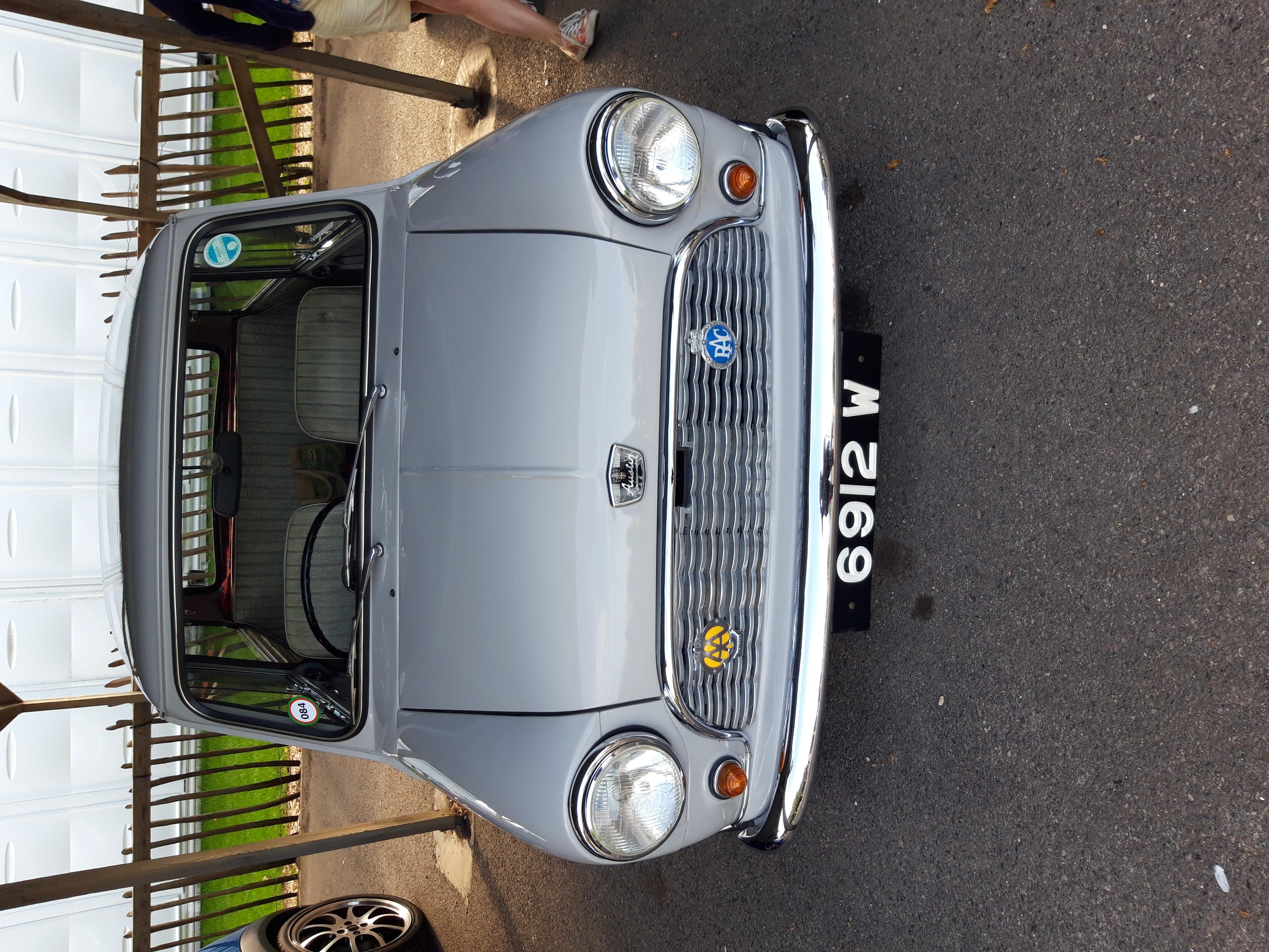 1960 austin seven mini.