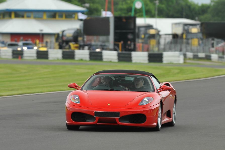 Ferrari White Knuckle Ride