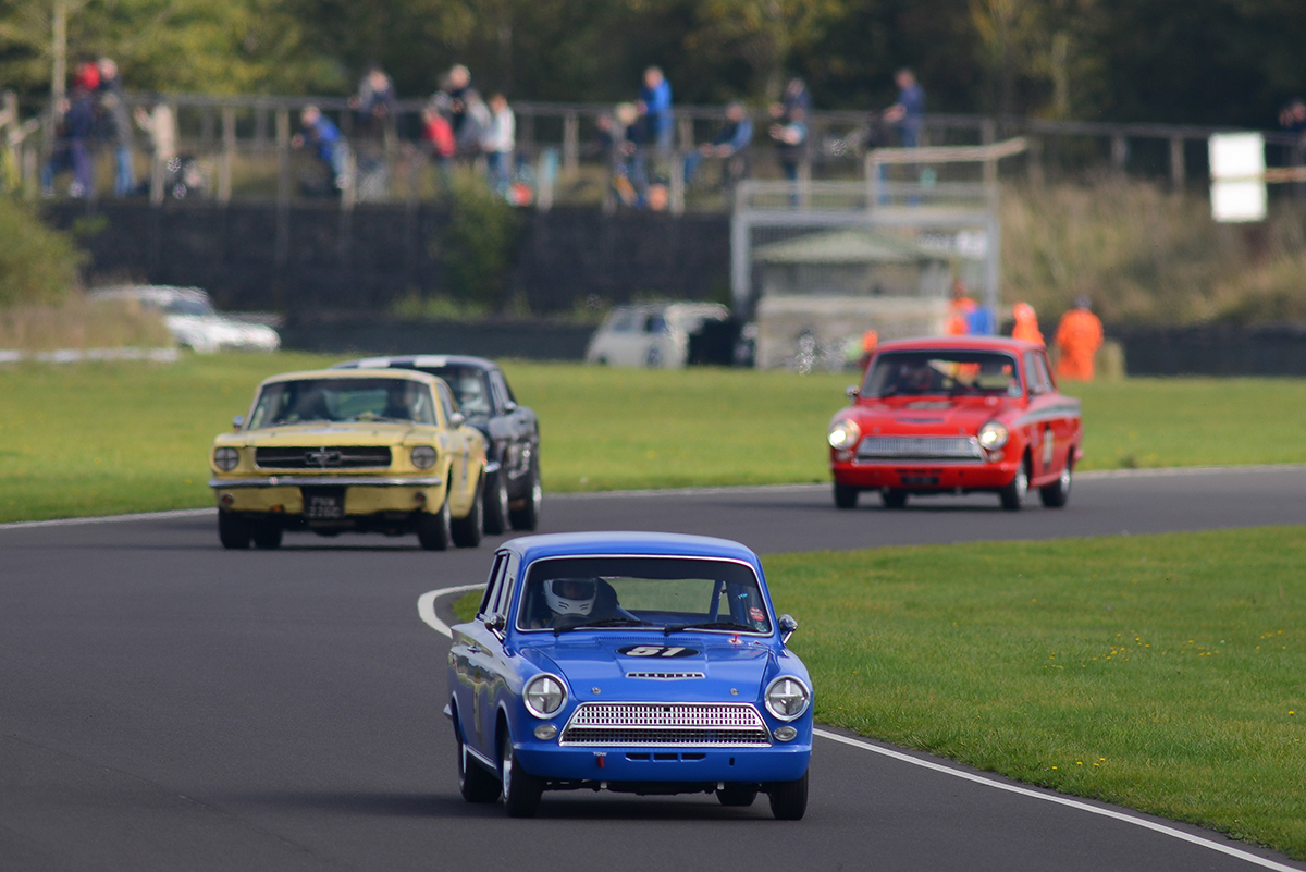 Ambrogio Perfetti bags HRDC Coys 100 Trophy at Castle Combe's Autumn Classic
