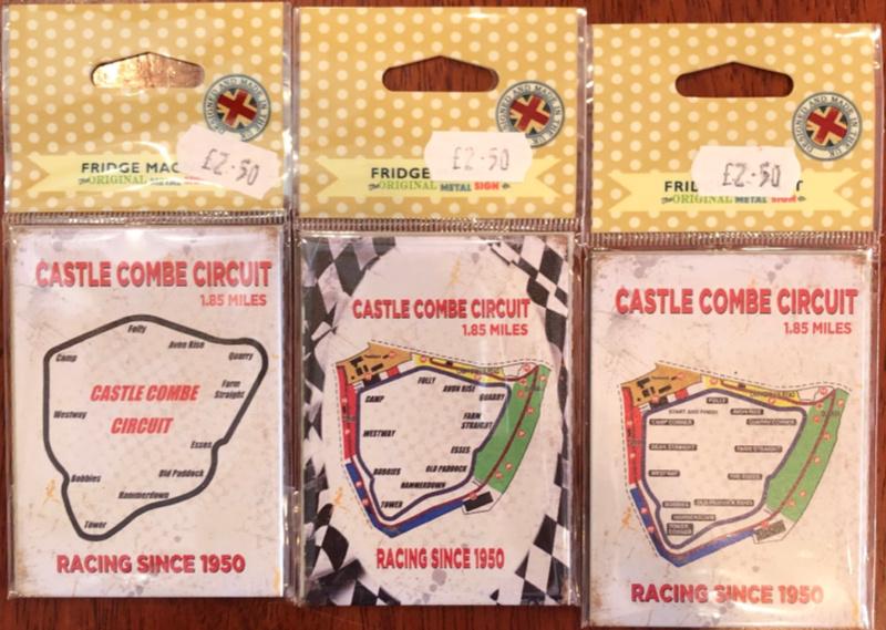 Castle Combe Circuit Fridge Magnet