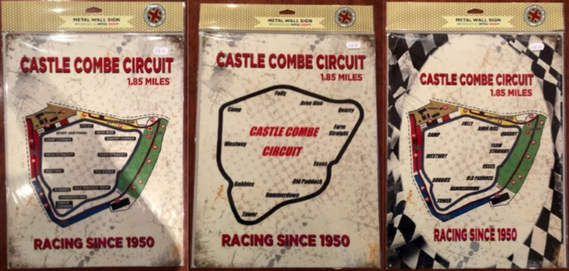 Castle Combe Circuit large metal sign