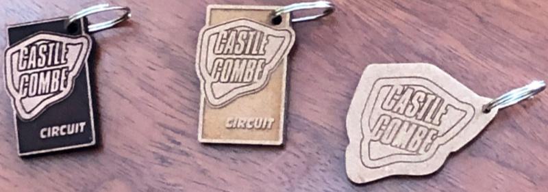 Castle Combe Circuit key rings