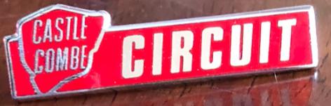 Castle Combe Circuit pin badge