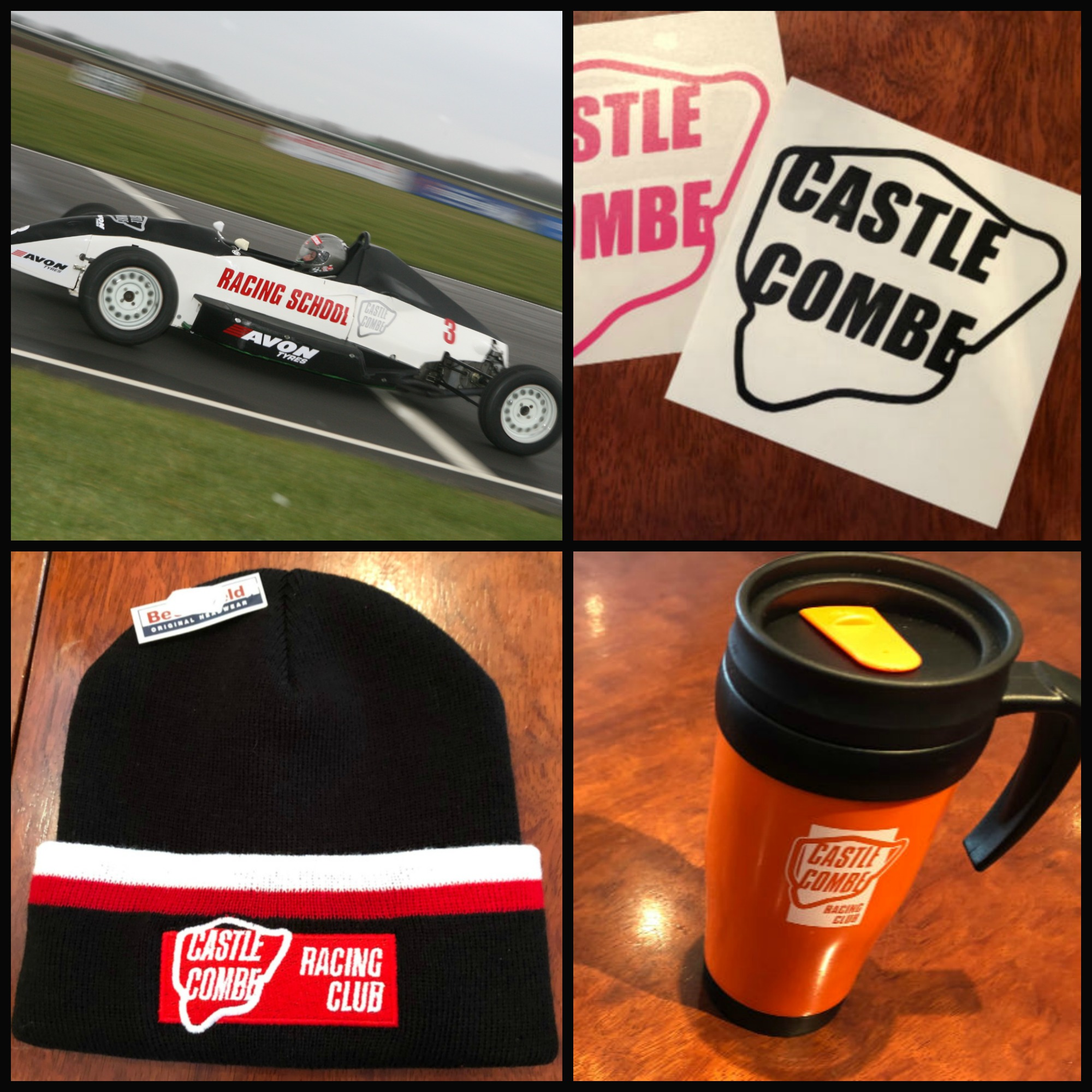 CASTLE COMBE CIRCUIT WEB SHOP LAUNCHES NEW LINE OF GIFTS