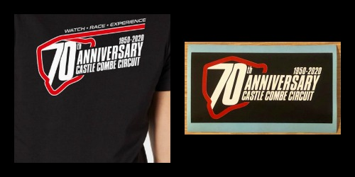 NEW 70TH ANNIVERSARY T-SHIRTS AND STICKERS