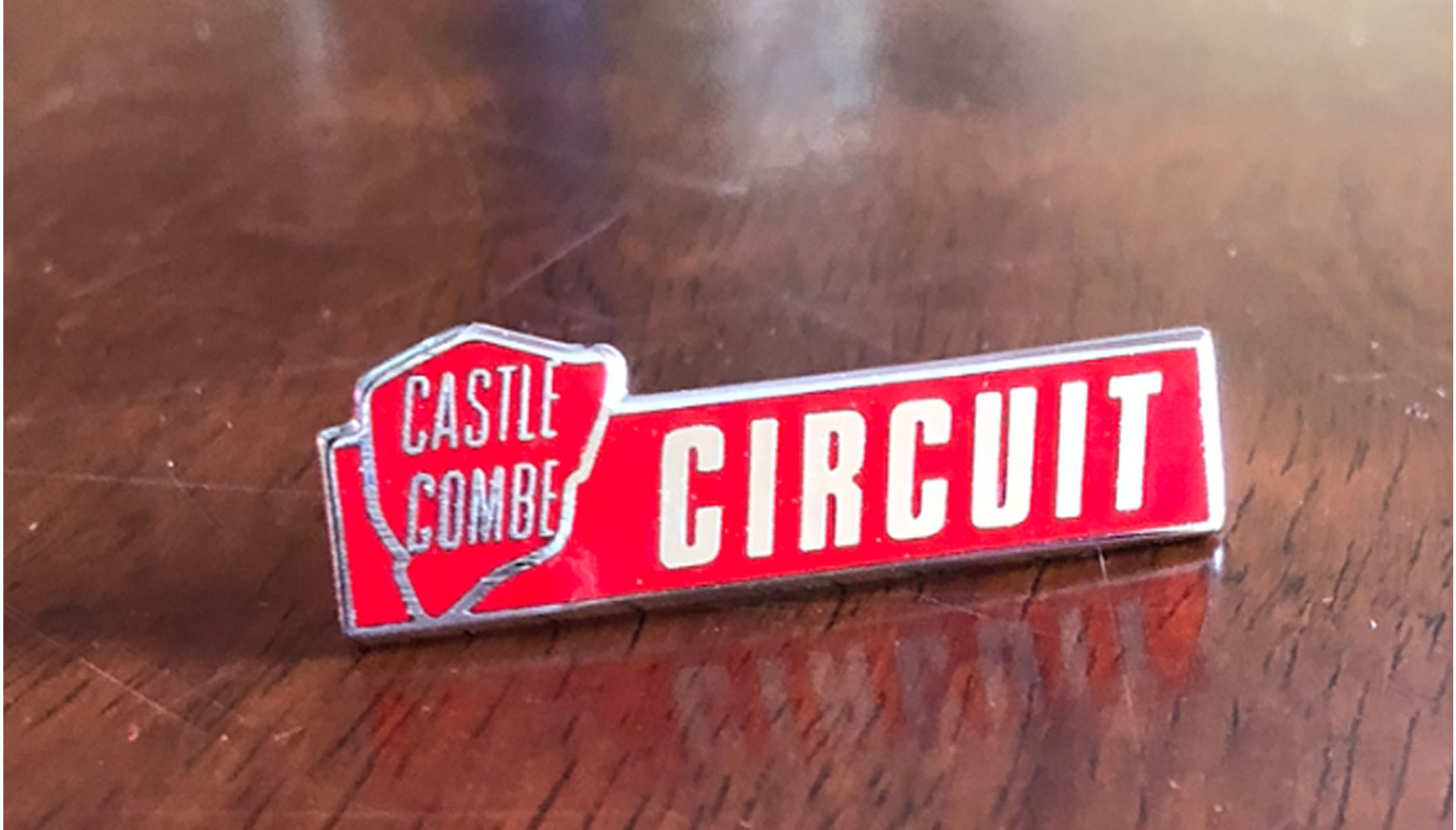 Castle Combe Circuit pin badge