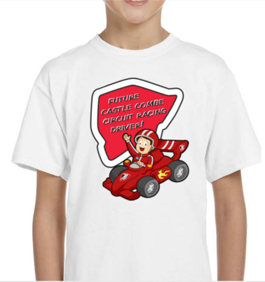 The Future Castle Combe Circuit Drivers Kids' T-Shirt