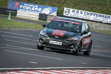 Ford Focus ST2 White Knuckle Ride