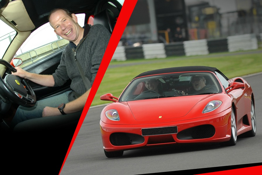 EXPERIENCE CASTLE COMBE CIRCUIT LIKE NEVER BEFORE WITH A FERRARI WHITE KNUCKLE RIDE