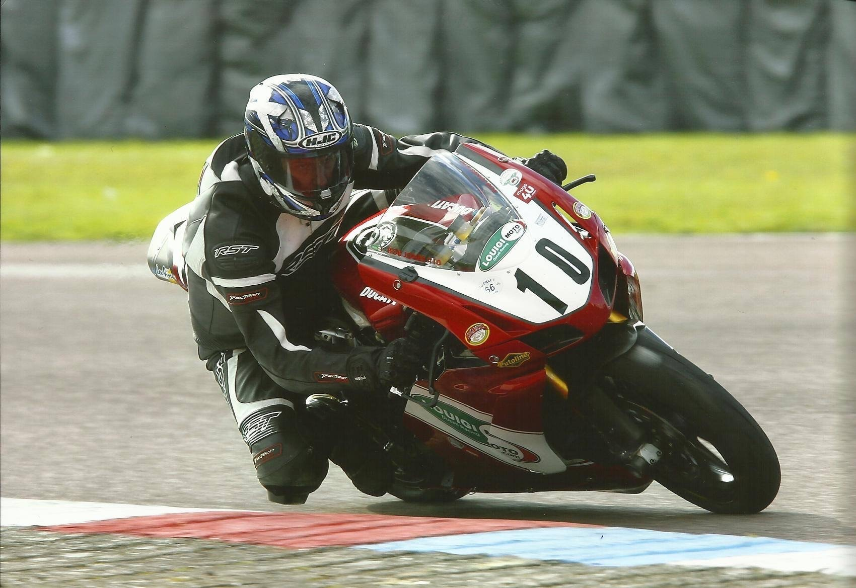 CHIEF MOTORCYCLE INSTRUCTOR ROB JONES CONFIRMED FOR COMBE TV