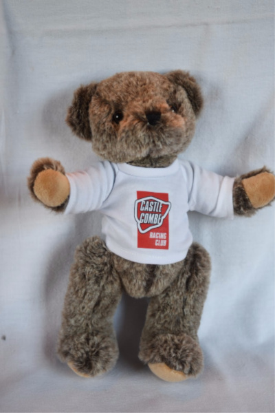 Archie Bear - White CCRC T-Shirt