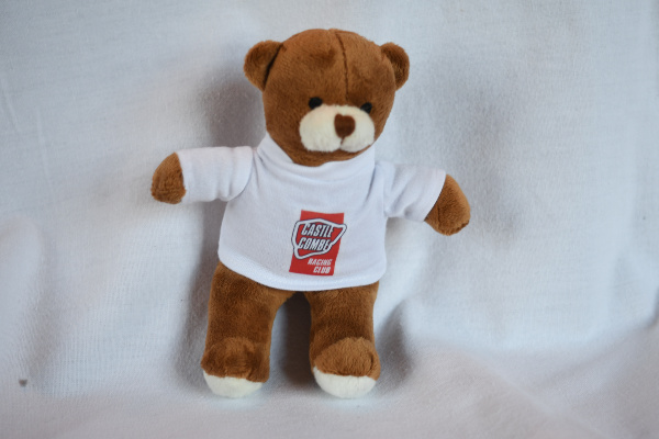 Henry Bear I - White CCRC T-Shirt