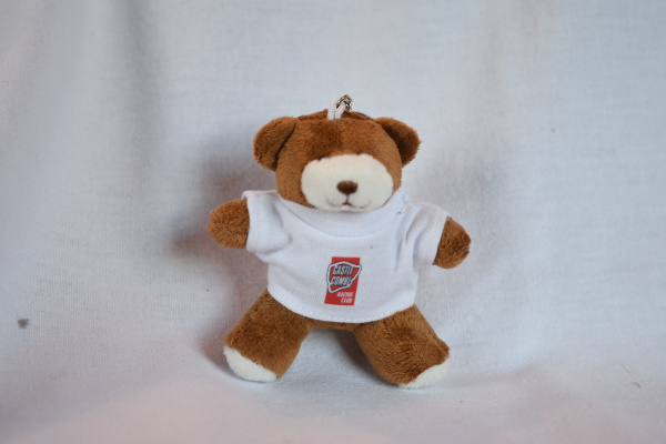 George Key ring Bear - White CCRC T-Shirt