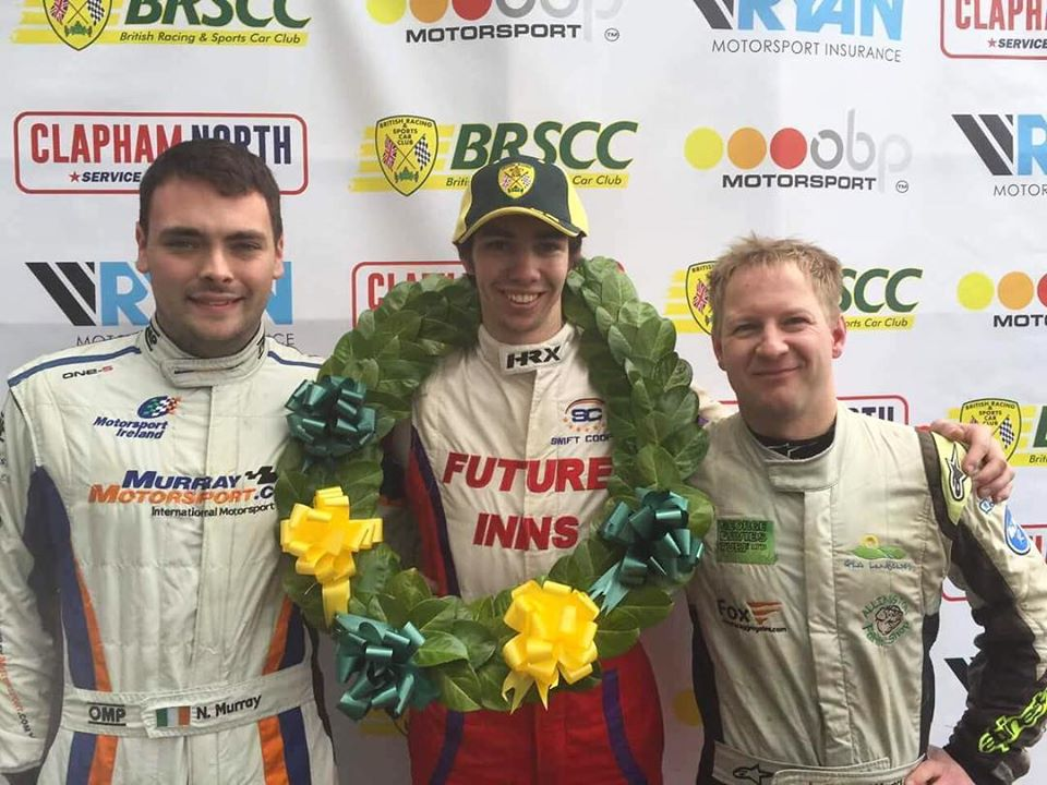 FORMULA FORD 1600 CHAMP, LUKE COOPER, TO JOIN WEDNESDAY'S COMBE TV