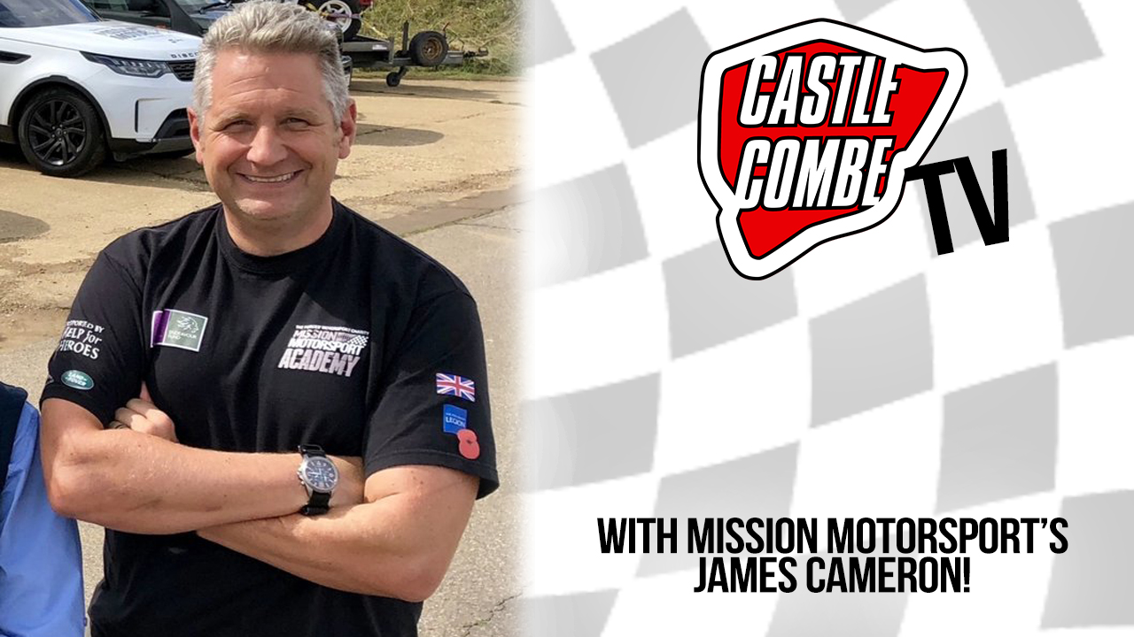 MISSION MOTORSPORT'S JAMES CAMERON TO STAR ON SUNDAY'S COMBE TV