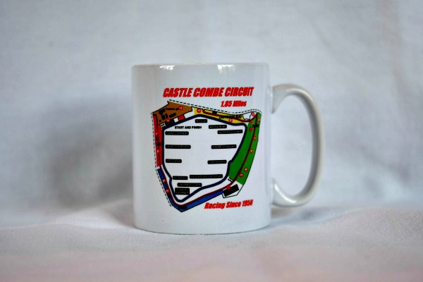 Circuit Map Ceramic Mug