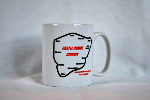 Circuit Outline Ceramic Mug