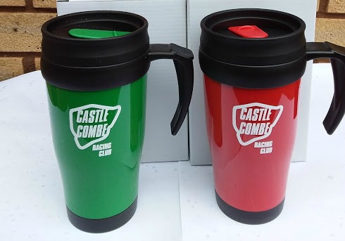 Castle Combe Racing Club insulated mug