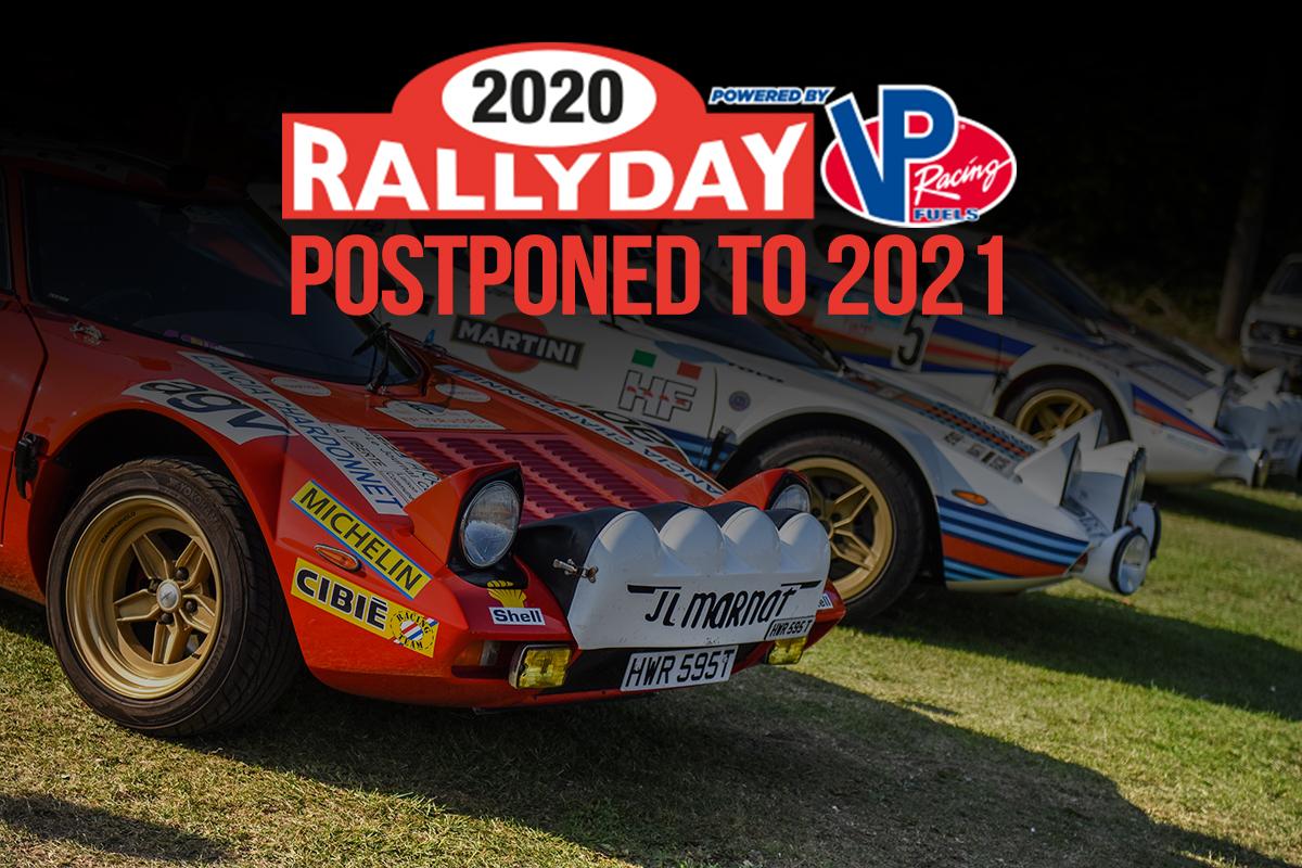 RALLYDAY POSTPONED TO 2021