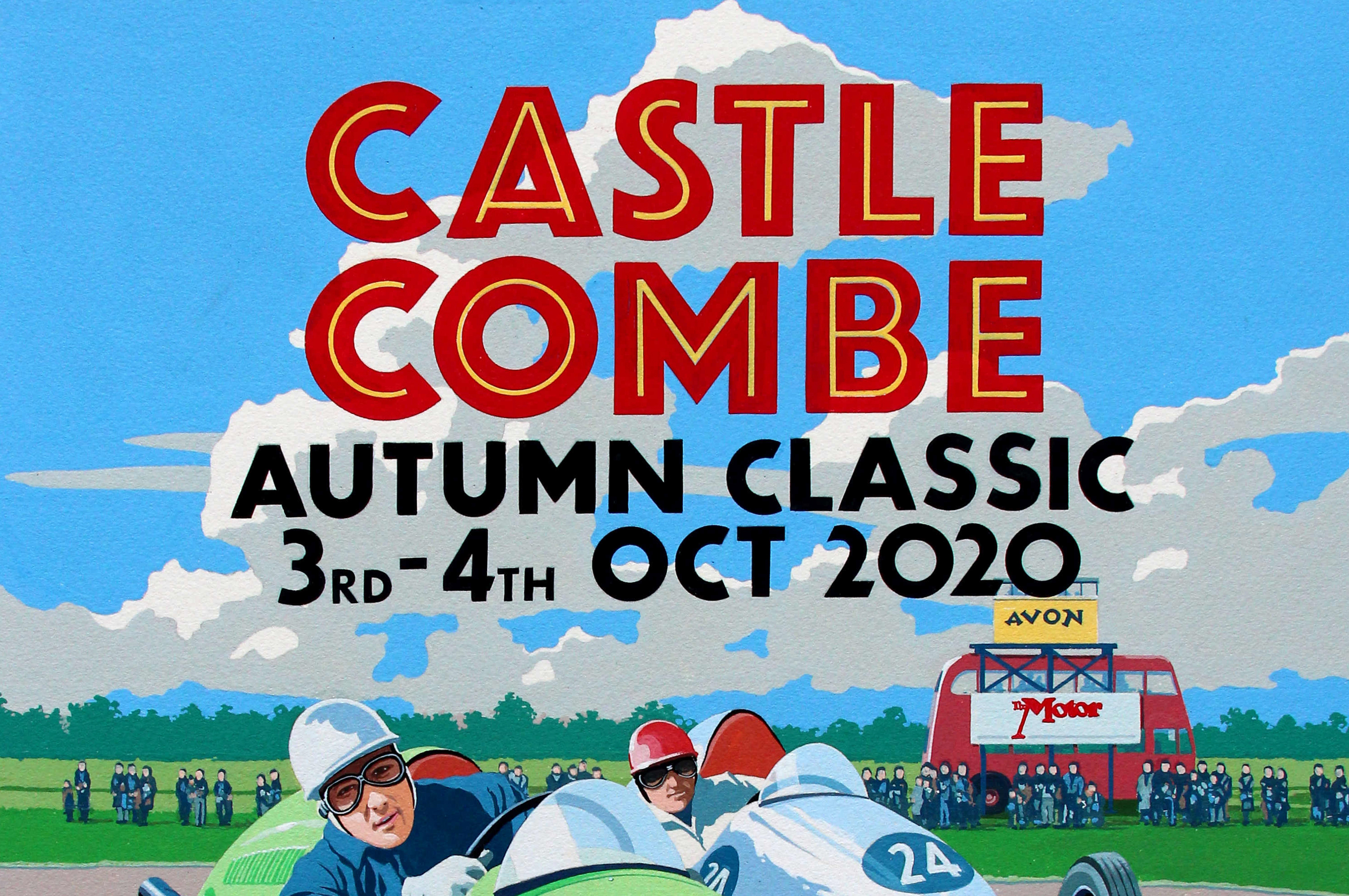 CASTLE COMBE AUTUMN CLASSIC RACE WEEKEND – DAY VISITOR UPDATE