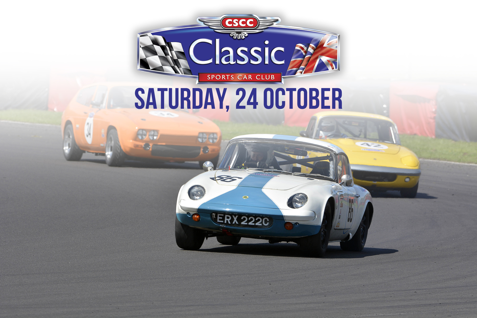 CLASSIC SPORTS CAR CLUB RACE DAY ANNOUNCED FOR 24 OCTOBER