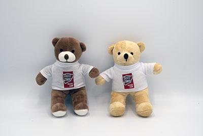 Henry Bear I & II - White CCRC T-Shirt