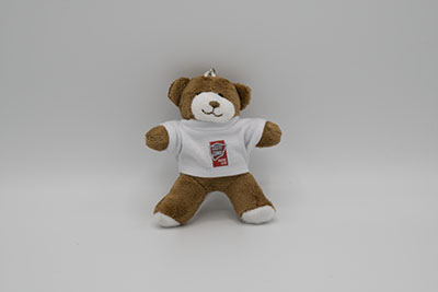 George Keyring Bear - White CCRC T-Shirt