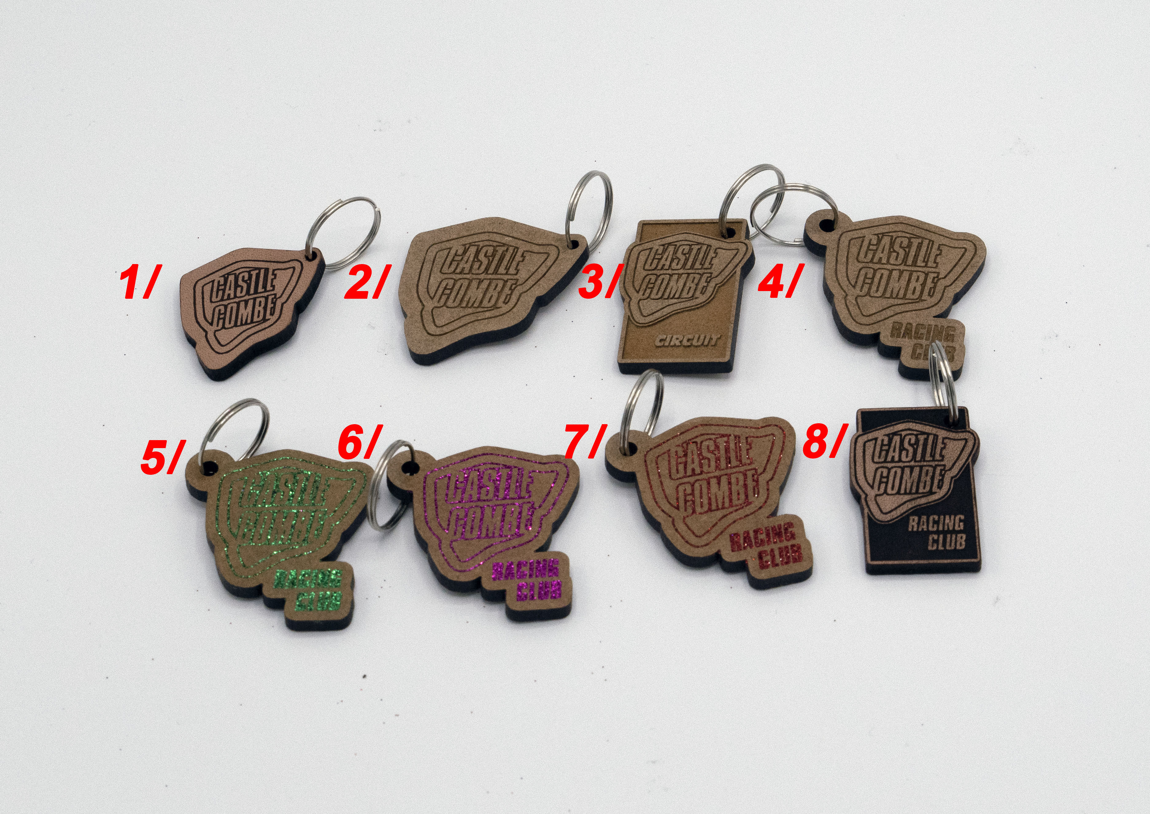 Castle Combe Circuit Keyrings