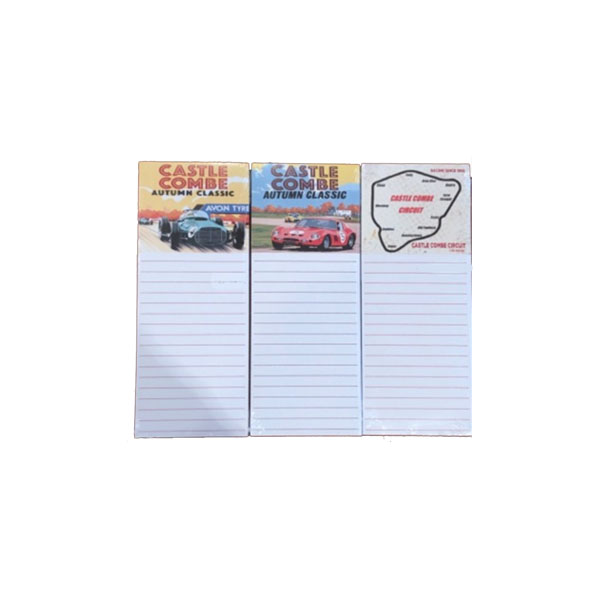 Castle Combe Racing Club Magnetic Memo Pads