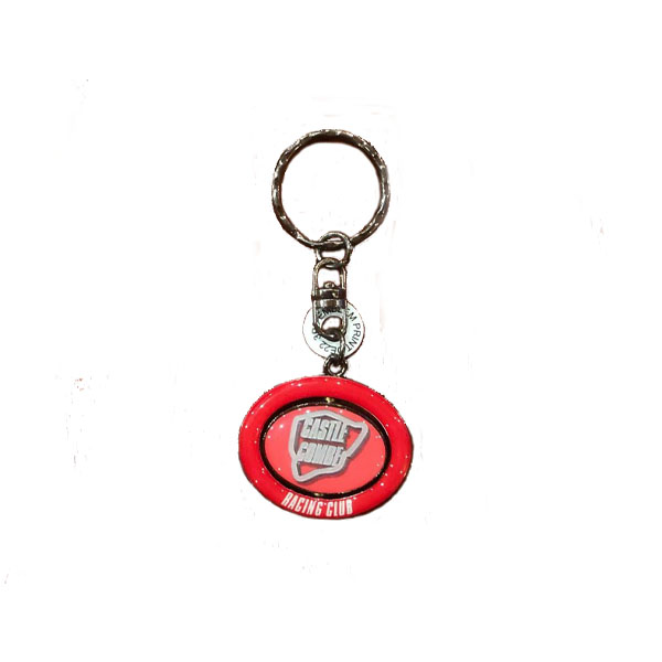 Castle Combe Racing Club Spinning Keyring