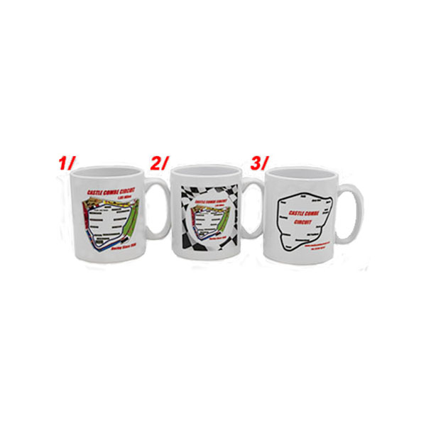 Castle Combe Circuit Ceramic Mugs