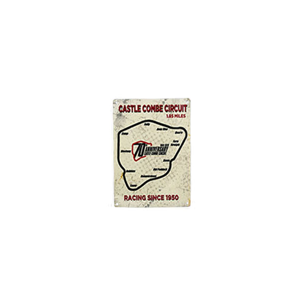 70th Anniversary Small Metal Sign