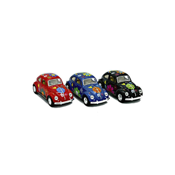 Kinsmart Diecast VW Classic with Tampo print