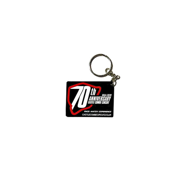 70th Anniversary Key Ring
