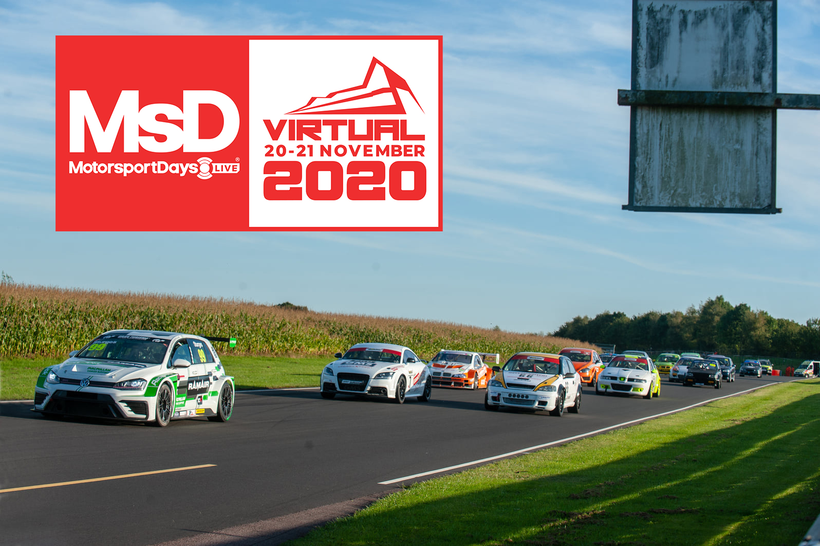 CASTLE COMBE CIRCUIT SUPPORTS MOTORSPORT DAYS LIVE VIRTUAL SHOW