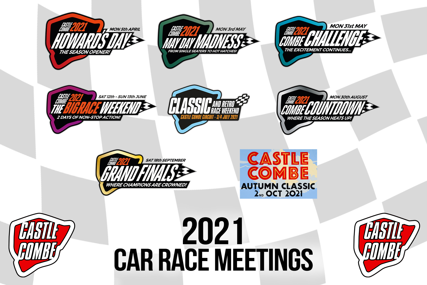 CASTLE COMBE CIRCUIT REVEALS ACTION-PACKED 2021 CAR RACE CALENDAR