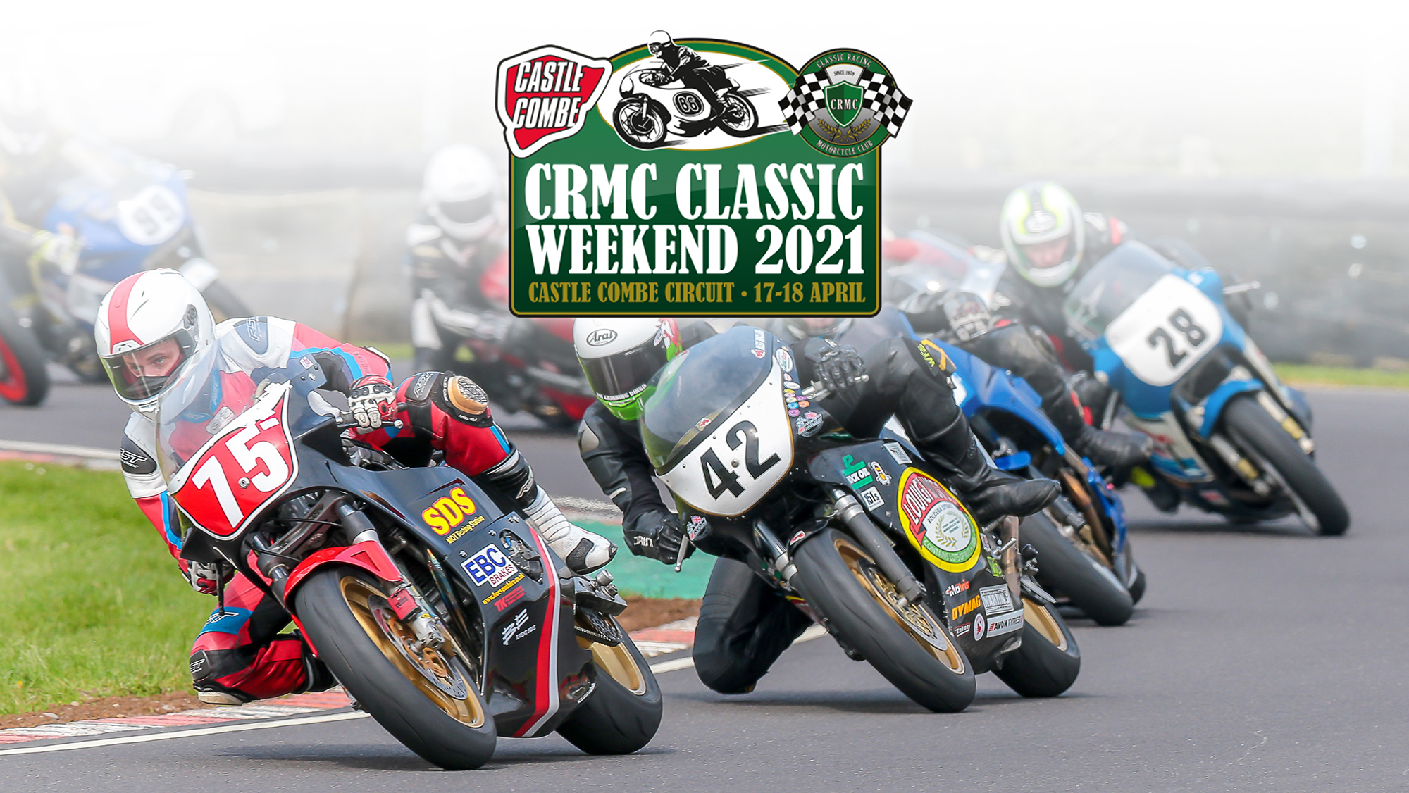 CRMC CLASSIC BIKE RACING WEEKEND TO DESCEND ON CASTLE COMBE CIRCUIT THIS SPRING