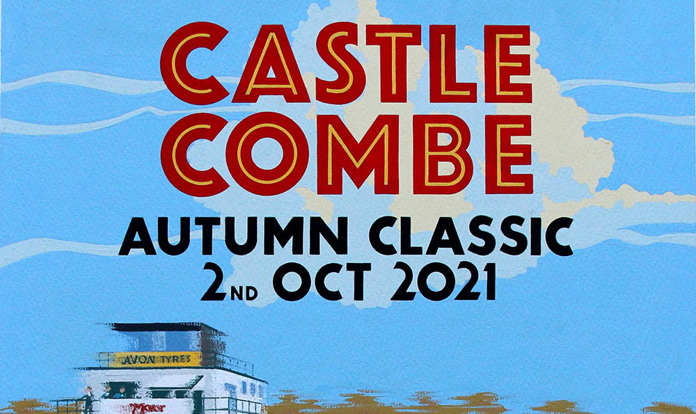 10th CASTLE COMBE AUTUMN CLASSIC WILL CELEBRATE 60th ANNIVERSARY OF THE E-TYPE JAGUAR