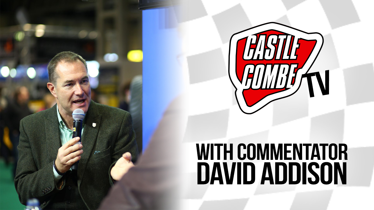 COMMENTATOR DAVID ADDISON SET TO STAR IN 'F3/BRITISH GT ANNIVERSARY' COMBE TV EPISODE