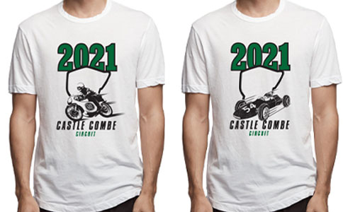 2021 Castle Combe Retro Racing T Shirt