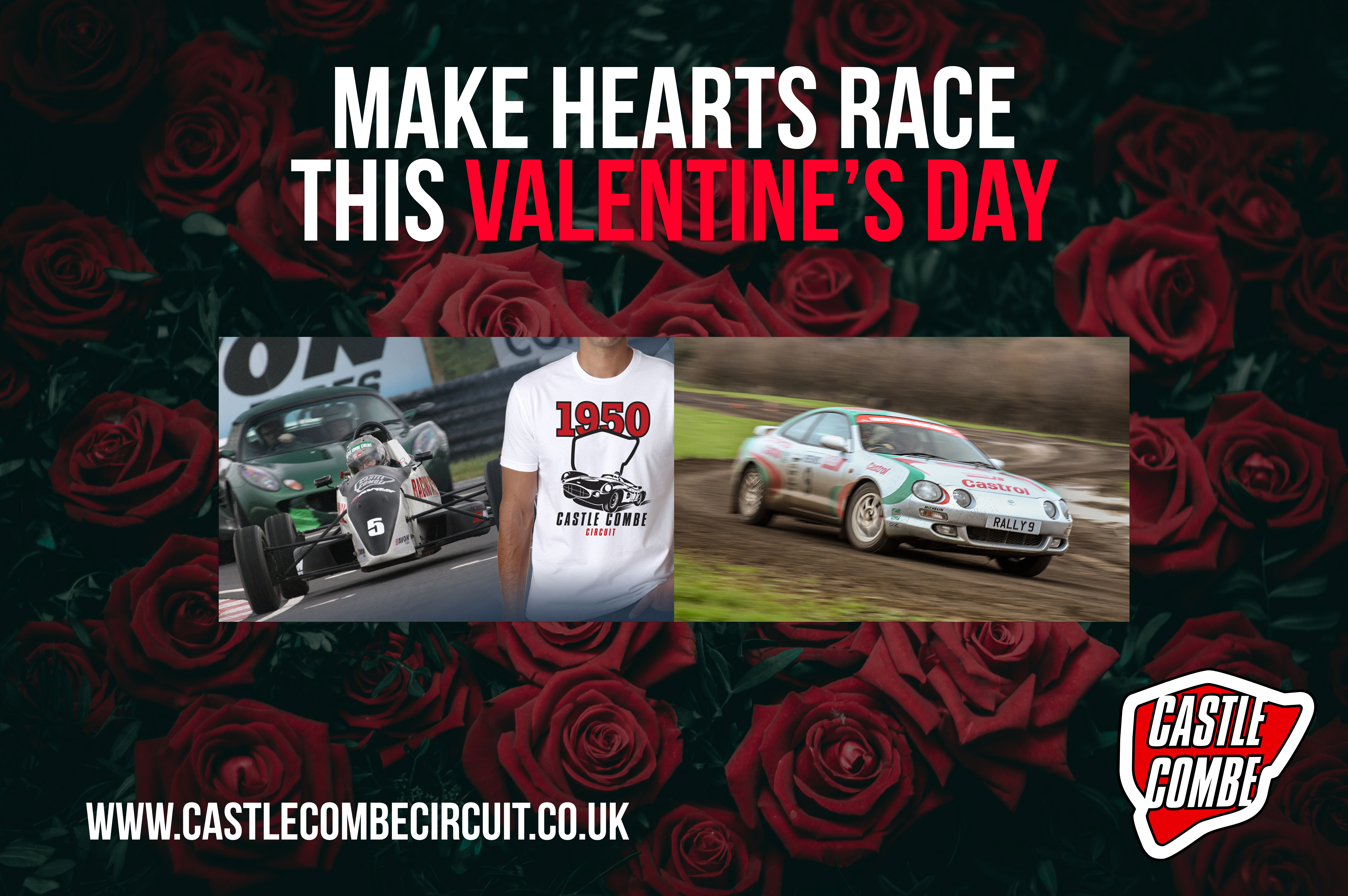 MAKE HEARTS RACE THIS VALENTINE'S DAY WITH CASTLE COMBE CIRCUIT