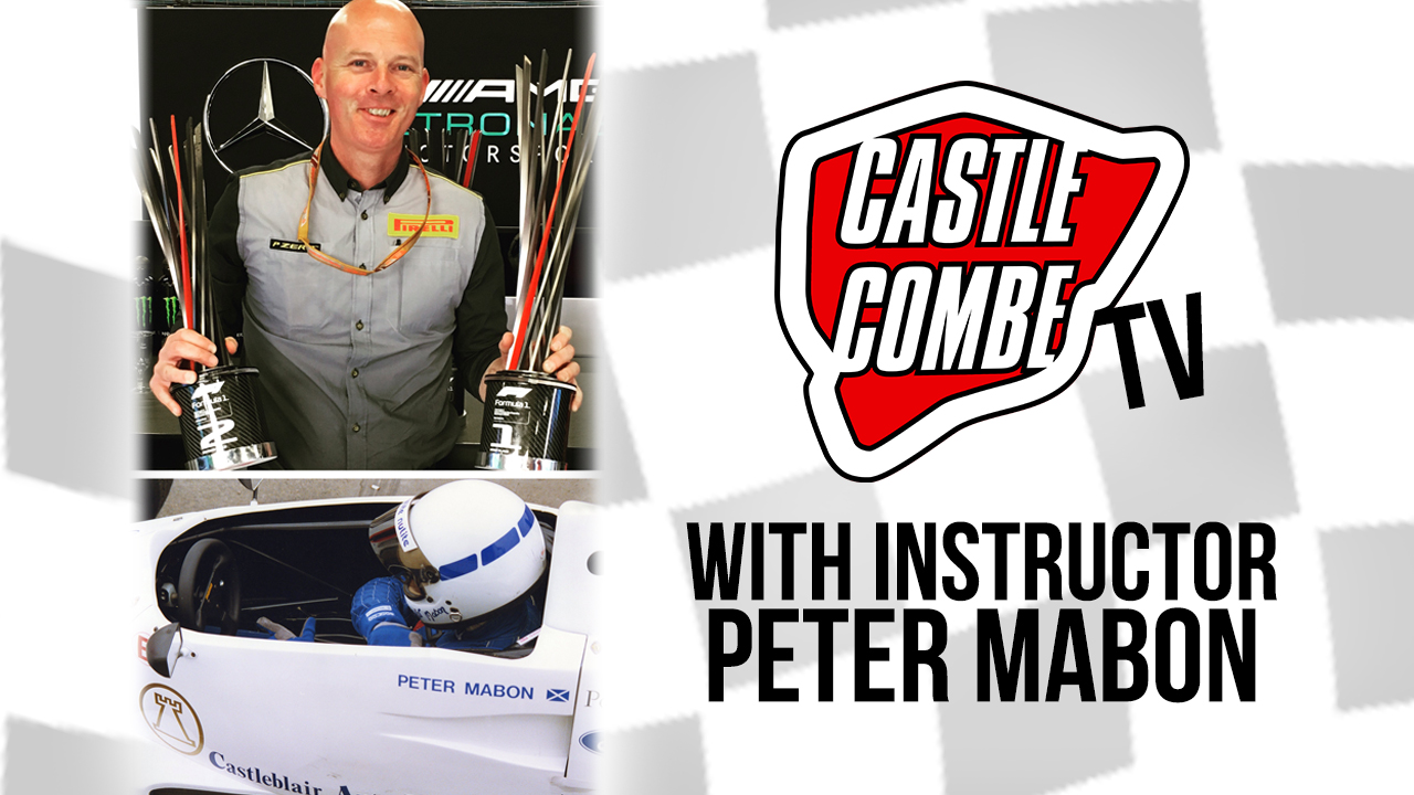 F1 ENGINEER & RACING SCHOOL INSTRUCTOR PETER MABON TO STAR ON COMBE TV