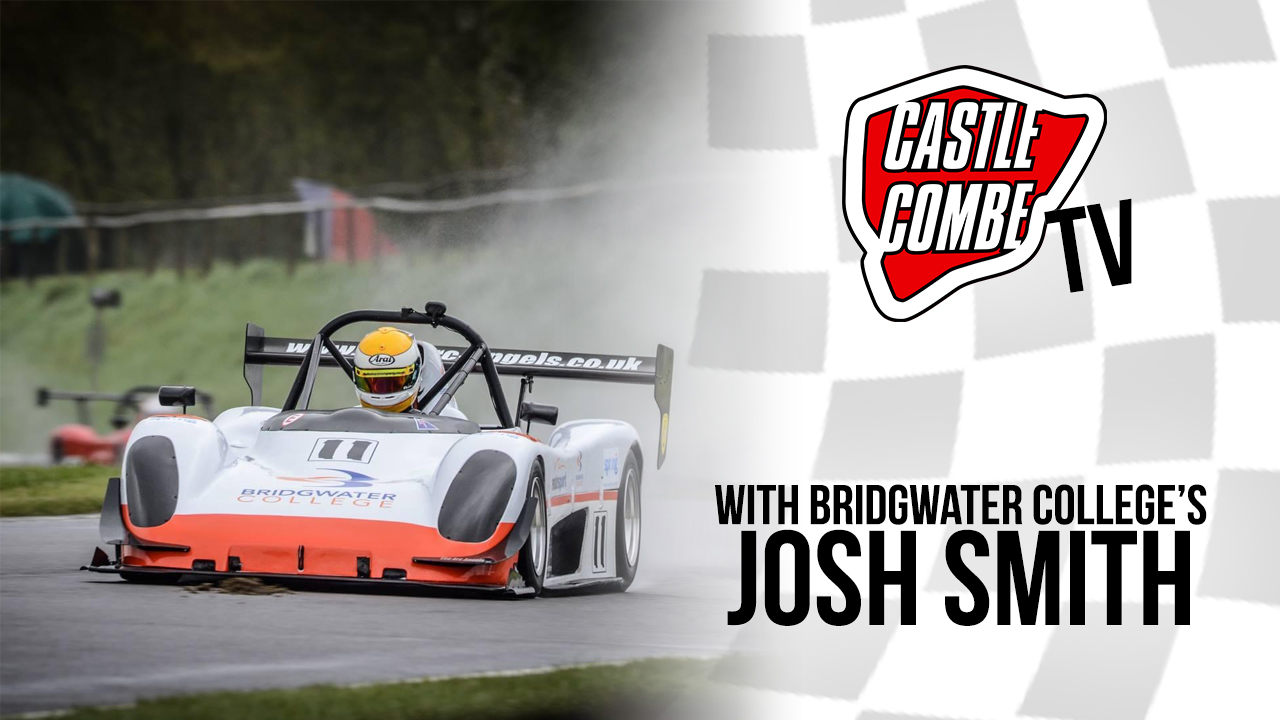 BRIDGWATER COLLEGE RACER JOSH SMITH TO FEATURE ON COMBE TV
