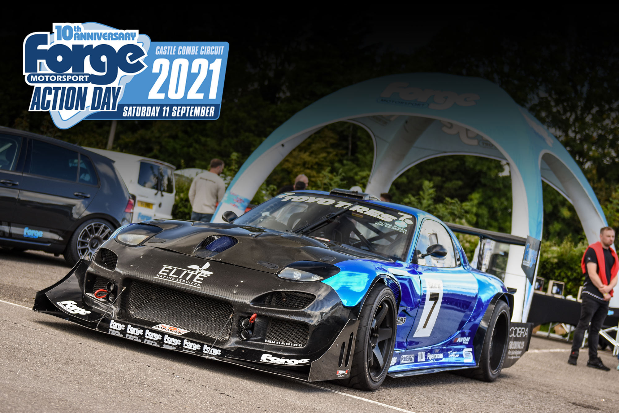 10TH ANNIVERSARY OF FORGE MOTORSPORT PARTNERSHIP TO BE CELEBRATED AT FORGE ACTION DAY 2021