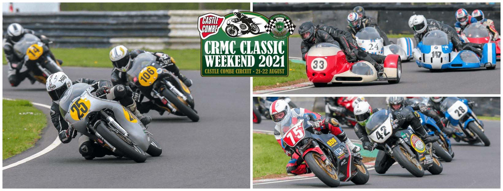 Grand Prix & Historic Bike Display to Feature at CRMC Classic Bike Weekend