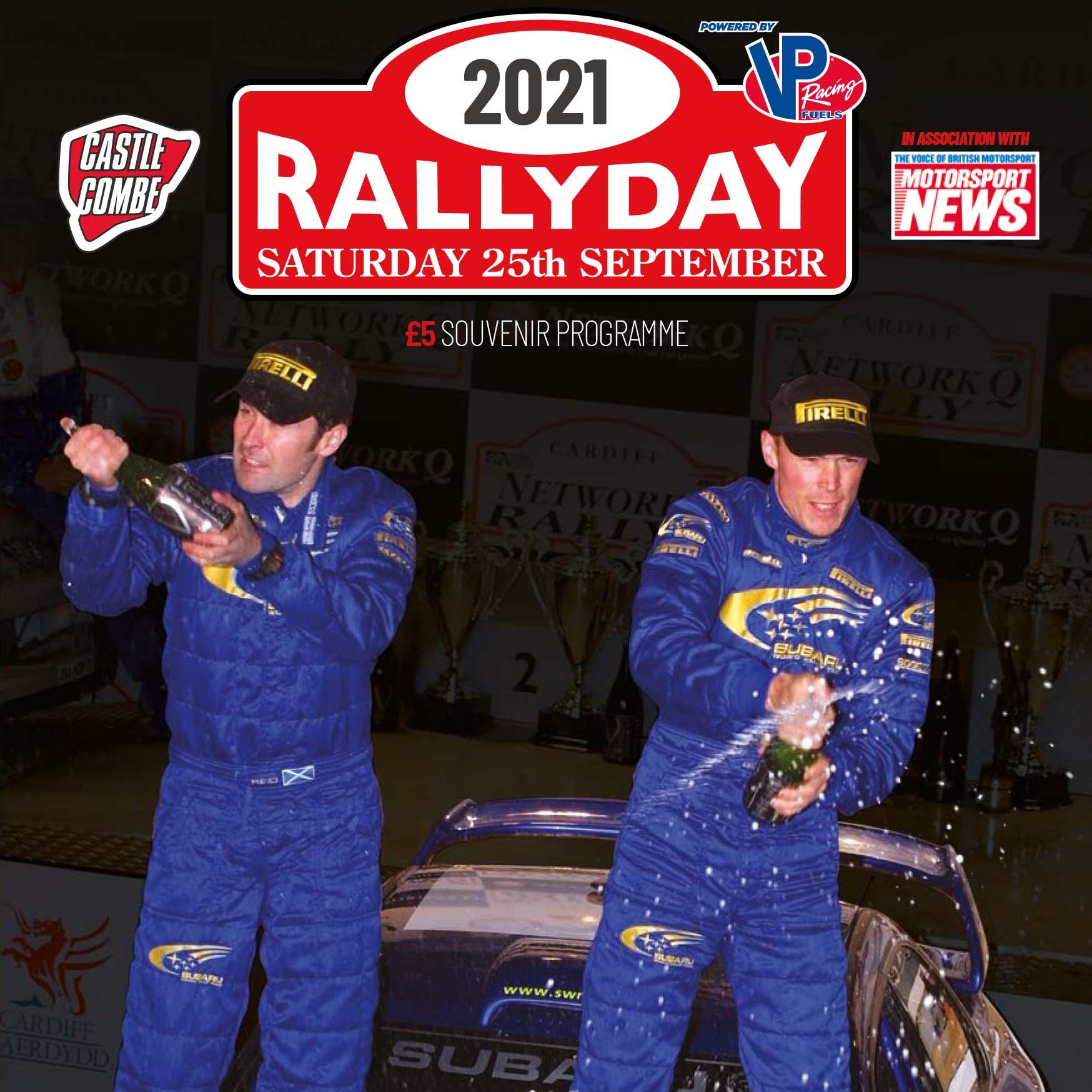 2021 Rallyday Programme