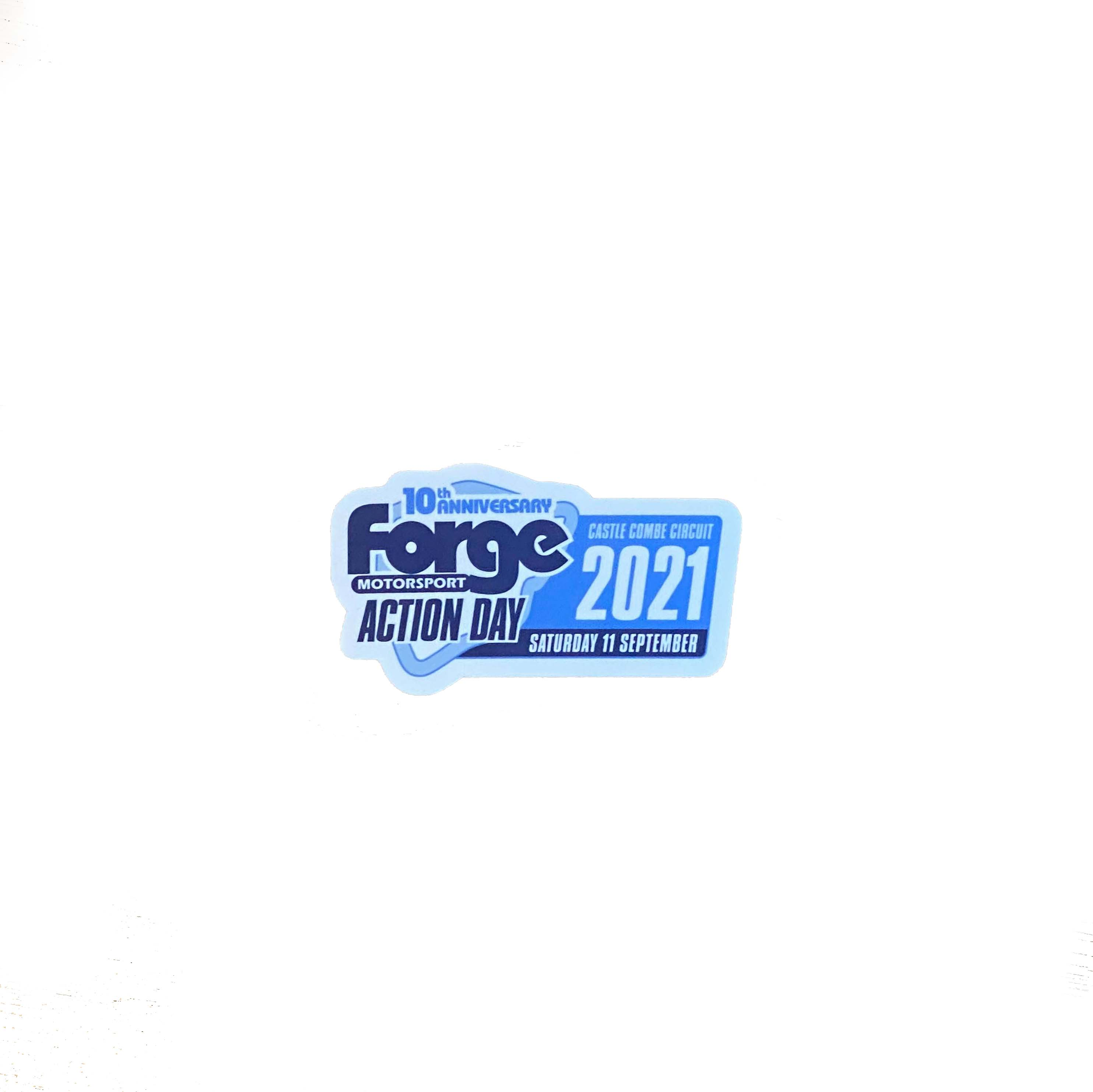 Forge Action Day 10th Anniversary Sticker